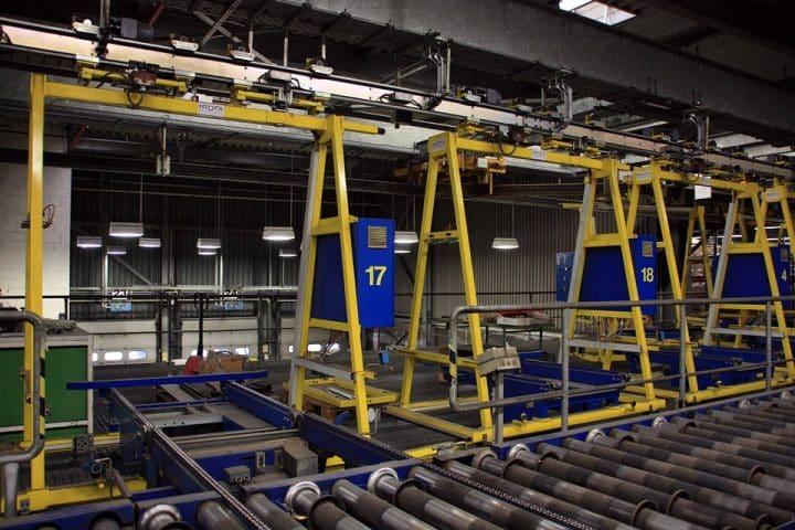 Convoyeur industriel & performance dans l'industrie