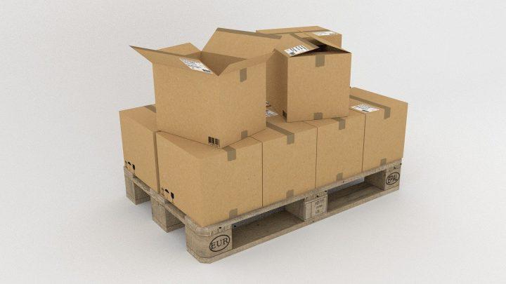 Le conditionnement logistique en palette de carton