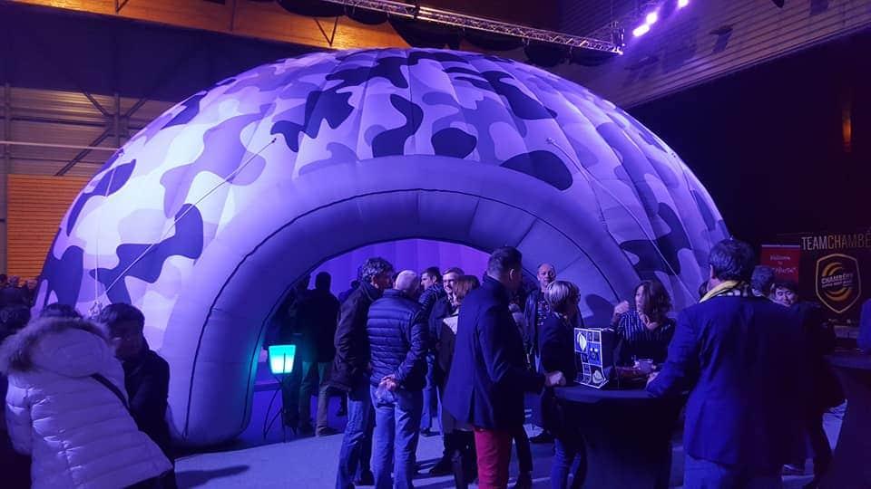 Un igloo gonflable pour réussir son évènement