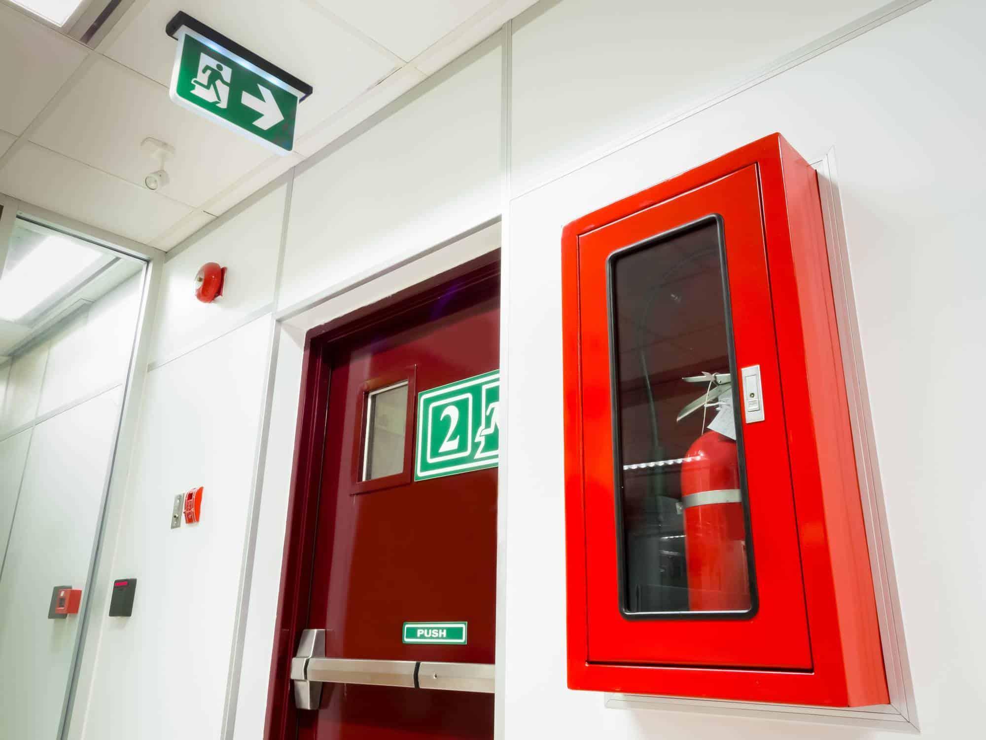 sécurité incendie en entreprise alarme
